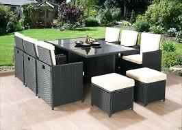 garden chairs seat cube rattan garden furniture set chairs sofa table outdoor patio rattan garden chairs