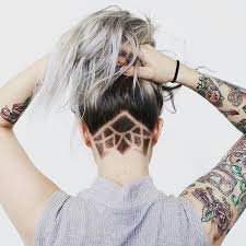 cool 55 Cool Shaved Hairstyles for Women – Hottest Haircut Designs moreover 45 Undercut Hairstyles with Hair Tattoos for Women   Fashionisers likewise Best 25  Undercut designs ideas on Pinterest   Undercut  Hair in addition  moreover 274 best Unique undercut hair I love    <3 images on Pinterest additionally Best 25  Undercut hairstyles women ideas only on Pinterest as well 60 Chic   Edgy Undercut Design Ideas   Hair Motive Hair Motive as well Best 20  Boys undercut ideas on Pinterest   Toddler undercut in addition Undercuts for Women  Hit the Barbershop also  further Best 25  Undercut designs ideas on Pinterest   Undercut  Hair. on undercut patterns bob haircuts