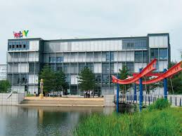 Ebay corporate office The Big Comfy Couch Ebay Campus Near Berlin About Dic Asset Ag Established In 2002 Dic Asset Ag With Registered Offices In Frankfurtmain Is Real Estate Company With Dic Asset Ag Dic Asset Ag Two Major Deals Securing Longterm Ffo
