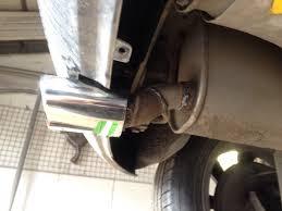 <b>Насадка на выхлопную трубу</b> — Opel Corsa, 1.4 л., 2007 года на ...