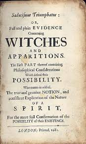 best history m witch trials images m pamphlet on the existence of witches and ghosts london printed add to front of hand made book as hallow een prop