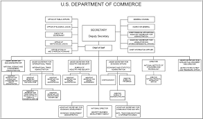Organizational Chart Mesmerizing US Deparment Of Commerce Organization Chart