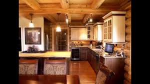 Cabin Kitchens Cool Log Cabin Kitchen Ideas Youtube