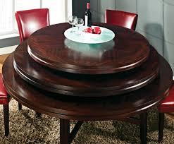steve silver hartford 7 piece round dining room set w red chairs in dark oak beyond s
