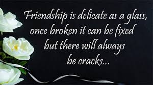 Sad Broken Friendship Quotes Images Friendship Breakup Quotes