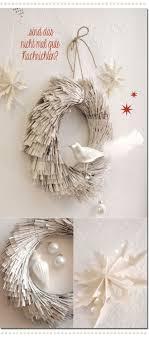Fringed paper wreath Les Tissus Colbert: Kellys Corner: Ein Kranz im