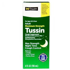 Dg Health Tussin Dm Generic Guaifenesin Prescriptiongiant