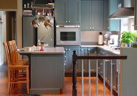 grey kitchen cabinet with white countertop grey stained cabinets