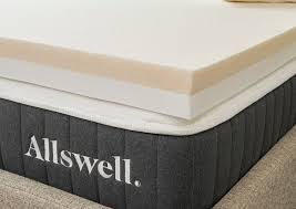 Image Littens Allswell 4 Memory Foam Mattress Topper Infused With Copper Gel