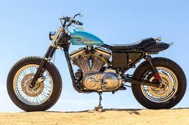 hollywood harley a sportster 883 dirt tracker bike exif