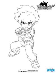 Coloriages Groupe Beyblade 3 Personnages Fr Hellokids Com