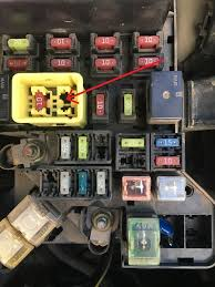 3 2 swb battery drain help please pajero 4wd club of victoria Pajero Fuse Box the fuses one by one until this one came up with a 1 3amp draw you can see i've removed it from the holder with it out, the draw sunk to 1 aha! pajero fuse box layout