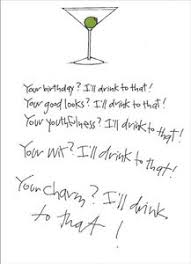 i ll drink to that funny birthday card by recycled paper greetings image is loading i 039 ll drink to that funny birthday
