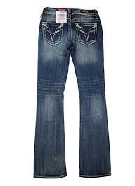 Amazon Com Vigoss Womens Kendra Classic Fit Boot Cut Jeans