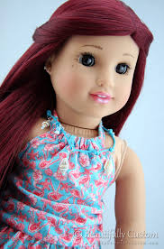 makeup tutorial tlecosmetics how to paint lips on your american doll beautifully custom dolls tutorial