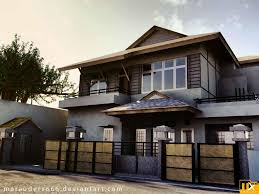 Simple House Exterior Design On House
