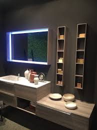 spa towel storage. Multiple Vanity Levels And A Combination Of Open Closed Storage Makes For Functional Sleek Bathroom. Spa Towel