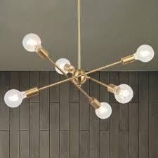 mid century sputnik chandelier lighting