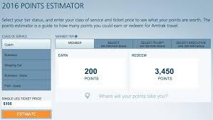 Amtrak Guest Rewards Redemption Chart What To Expect Amtraks New Revenue Based Rewards Program