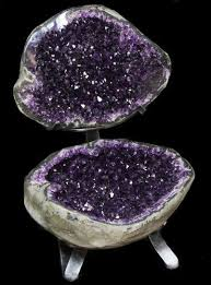 Geode Display Stand Inspiration Amazing Amethyst Geode Display On Stand Spectacular For Sale