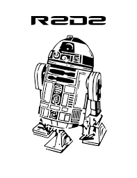 Small Picture R2D2 in Star Wars Coloring Page R2D2 in Star Wars Coloring Page