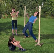 Wooden Limbo Game Limbo Game a fun party game 3