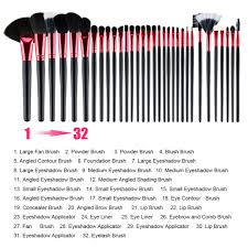 32 makeup brushes and their uses