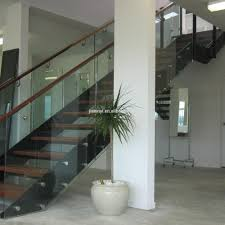 Stainless Steel Staircase Design Kerala China Factory Modern Style High Quality Fashion Glass Railing Wood Staircase Design Kerala View Glass Railing Jxy Product Details From Shenzhen