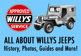willys jeep history military jeep specs and history