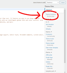 functions php file in wordpress