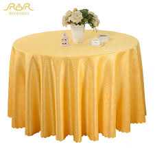 gold plastic tablecloth romorus new round table cloths solid color wedding gold gold
