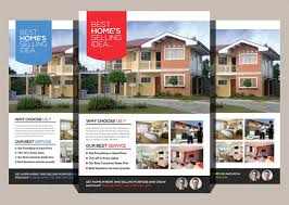 real estate flyer templates estate flyers insaat mcpgroup co
