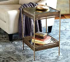 pottery barn end tables side table pottery barn round tablecloth