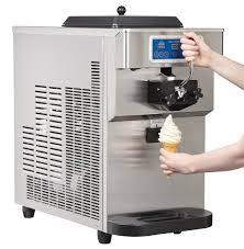 malibu ct 151 g soft ice cream machine serving