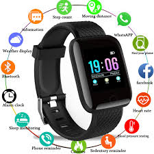 <b>Smart Watch Men Blood</b> Pressure Waterproof Smartwatch Women ...