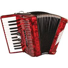 accordion. hohner 48 bass entry level piano accordion m