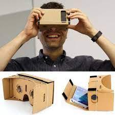 Mã SKAMA8 giảm 8% đơn 300K] [Mã SKAMA8 giảm 8% đơn 300K] Kính Thực Tế Ảo  Google Cardboard bìa Carton