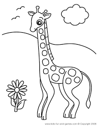 Small Picture Giraffe Colouring Pages Coloring Coloring Pages