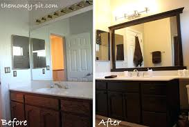 black framed bathroom mirrors. Large Black Framed Mirror Mirrors For Bathrooms Hobby Lobby Round Inside Ideas 13 Bathroom