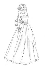 Awesome Barbie Princess Coloring Pages Electic