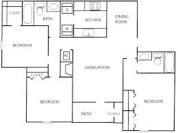 3 Bedroom Flat Plan And Design 3 Bed Flat Fascinating 3 Bedroom Flat House Plan  Design