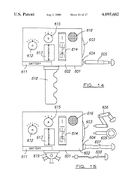 patent us6095682 pyrometer multimeter google patents patent drawing