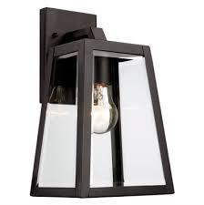 lucid lighting. lucid lighting 12in h black outdoor wall light