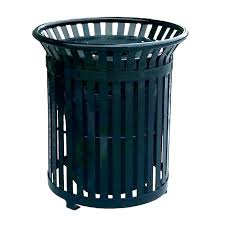 metal trash can with lid bin garbage cans lids aluminum small locking