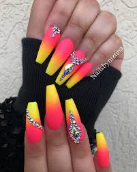 Neon Nail Designs Pinterest Pinterest Photo Nails Nail Art Nail Nail Polish Nail