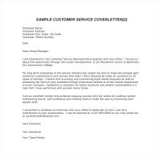 Business Letter Format Sample Pdf Customer Service Email Cover