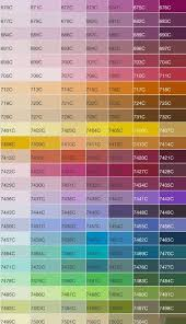 Pantone Code Chart Pantone Color Codes In 2019 Color Swatches Color Mixing