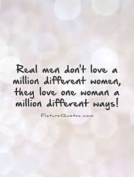 When A Man Loves A Woman Quotes