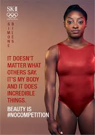simone biles and sk ii join forces to