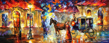 horses palette knife oil painting on canvas by leonid afremov painting horses horses horses